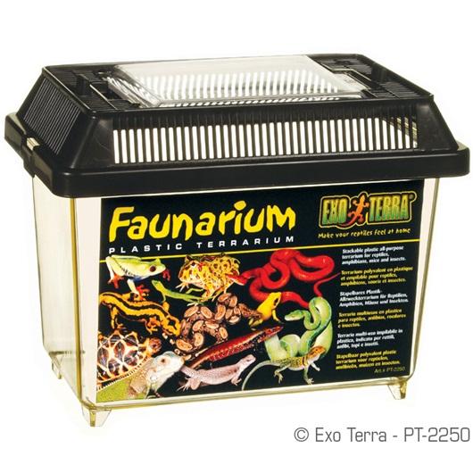 Faunarium Exo Terra - transporteur pour Rongeurs, reptiles, amphibiens