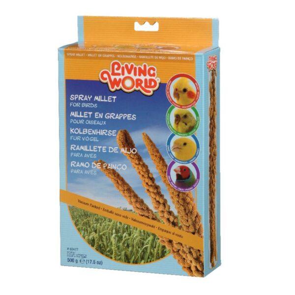 Living World Spray Millet for Birds - 500 g