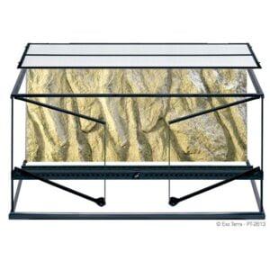 Terrarium en verre, grand, large, 90 x 45 x 45 cm - Exo Terra