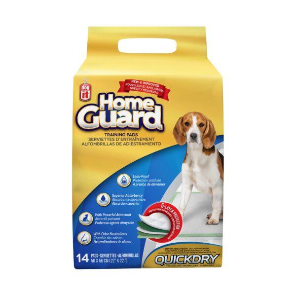 Serviettes d'entraînement Home Guard Dogit pour chien