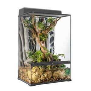 Terrarium de forêt tropicale et paludarium de pointe Exo Terra, moyen, très haut, 60 x 45 x 90 cm