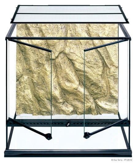 Terrarium en verre, moyen, haut, 60 x 45 x 60 cm - Exo Terra