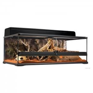 Terrarium en verre, grand, bas, 90 x 45 x 30 cm (36 x 18 x 12 po) - Exo Terra