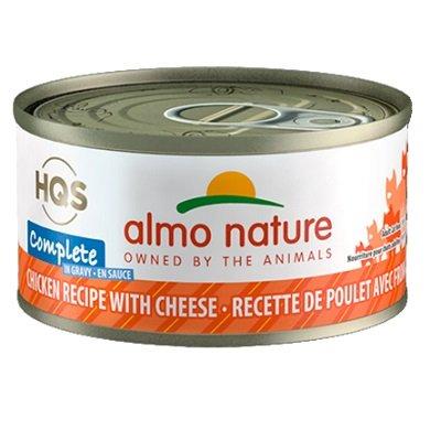 Conserve en sauce, Poulet avec Fromage pour Chats, 70g – Almo Nature