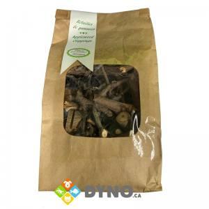 Retailles de pommier pour Rongeur, 1250g - Anidis